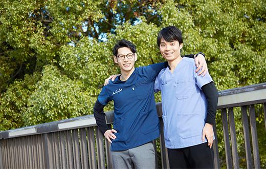 1.若手主体のチームで、チーム力で看護をする!